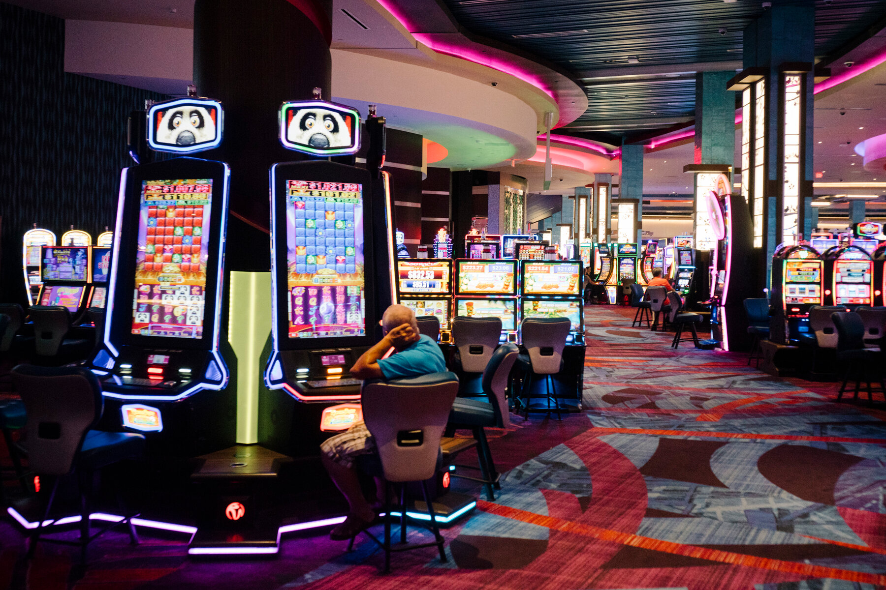 Casinos are making the most of technology